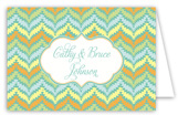 Oh Baby Green Folded Note Card