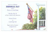 Old Glory Invitation