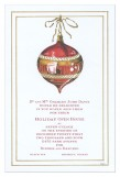 Old World Ornament Invitation