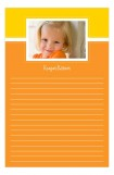 Orange Photo Notepad