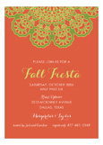 Orange Vintage Lace Fiesta