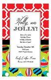 Holly and Jolly Invitation Image