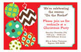 Ornament Swing Invitation