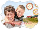 Ornate Wreaths Photo Card