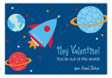 Out Of This World Valentine Card