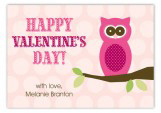 Owl Love You Valentine Card