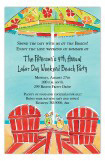 Pair of Adirondack Chairs Invitation