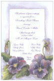 Pansy Invitation