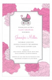 Partial To Pink Invitation