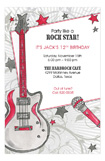 Party Like A Rock Star Invitation