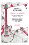 Party Like A Rock Star Invitation