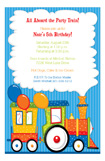 Party Train Invitation