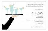 Passed Cocktails Invitation
