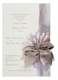 Pastel & Pewter Invitation