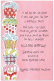 Patterned Cupcakes Invitation