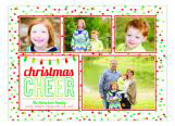 Christmas Cheer Holiday Photo Card