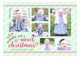 Sweet Christmas Collage Photo Card