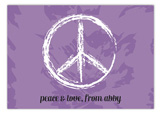 Peace & Love Postcard