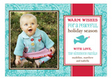 Peaceful Holiday Photo Card