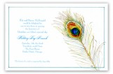 Peacock Plumage Invitation