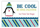 Penguin Kisses Valentine Card