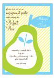 Perfect Pear Invitation