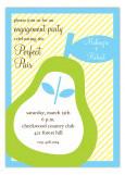 Perfect Pear Invitation