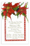 Perky Poinsettias Invitation