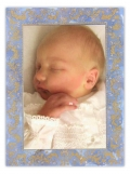 Faux-Tuny Azure Photo Card