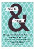 Ampersand Wedding Shower Invitation