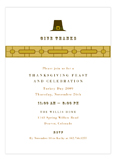Pilgrim Hat Invitation