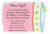 Pillow Die-cut Invitation
