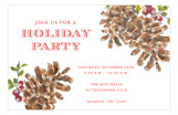 Pinecones Invitation