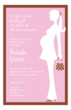 Pink Bliss Baby Shower Invitation