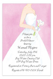 Pink Bride Invitation