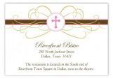 Pink Cross Pendant Enclosure Cards