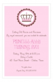 Pink Dot Princess Invitation