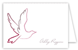 Pink Dove Note Card