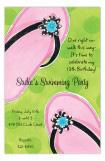 Pink Flip Flops Invitation