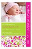 Pink Garden Photo Card