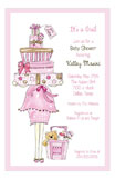 Pink Momma Package Invitation