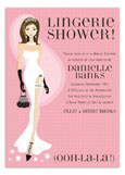 Pink Ooh-la-la Lingerie Invitation