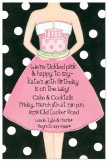 Pink Party Lady Invitation
