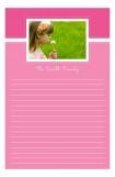 Pink Photo Notepad