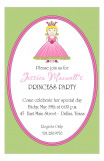 Pink Princess Invitation