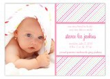 Pink Ruffles Photo Card
