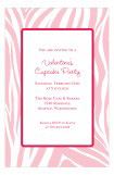Pink Zebra Invitation