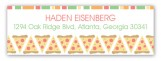 Pizza Party Address Label
