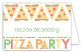 Pizza Party Folded Note Card