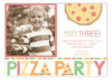 Pizza Party Photo Card